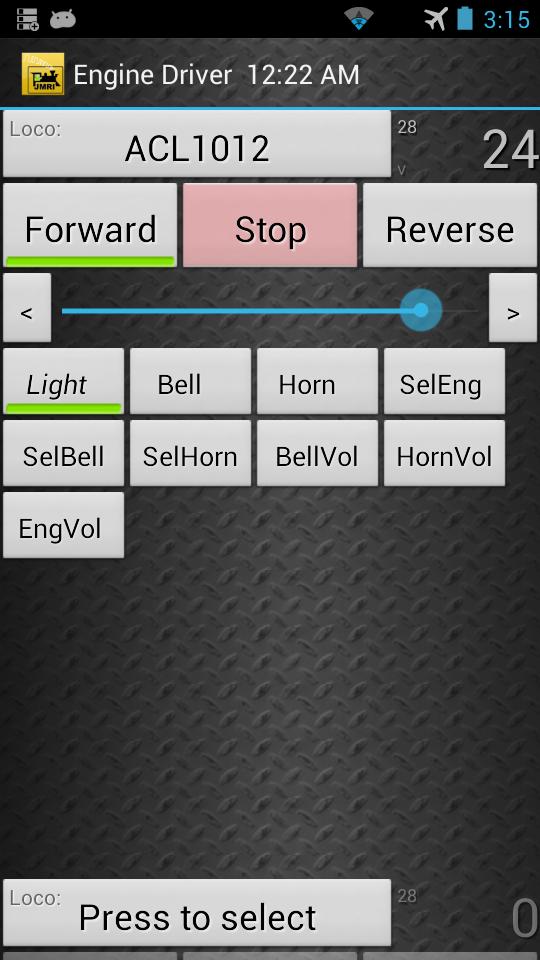 Engine Driver screenshot